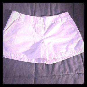 J crew white shorts size 12